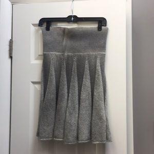Skirts - Grey wool blend skirt
